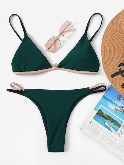 Gehen Sie Kurz Vor Der Sommersaison In Badebekleidung Und Bikini-Form