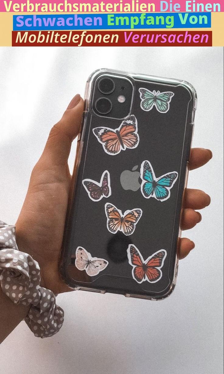 Verbrauchsmaterialien, Die Einen Schwachen Empfang Von Mobiltelefonen Verursachen